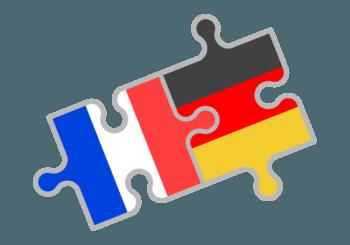 Deutschland Frankreich Puzzle Immo-K Makler
