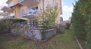 Angenehme Wohnung Kehl Sundheim - K110 - Ansicht Garten und Terrasse