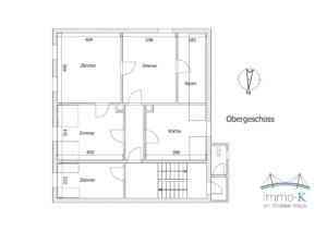Haus Kehl - Schéma Obergeschoss -K108