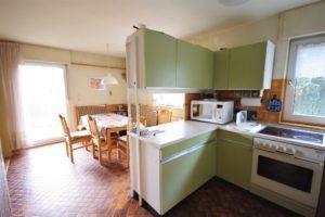 Gemütliche Doppelhaushälfte Kehl - K109 - Küche und Essbereich
