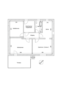 Schéma - K114 - Wohnung Griesheim Horn 11, Griesheim