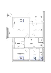 Schéma - K117 - Angenehme Wohnung Kehl Sundheim