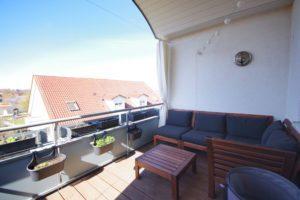 Balkon - K117 - Angenehme Wohnung Kehl Sundheim