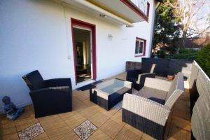 Terrasse - K114 - Wohnung Griesheim