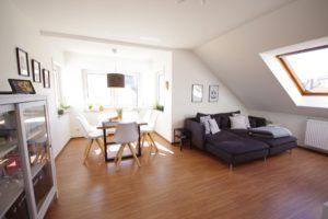 Wohnzimmer - K117 - Angenehme Wohnung Kehl Sundheim